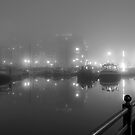 Misty Moored Houseboats by gsp100677