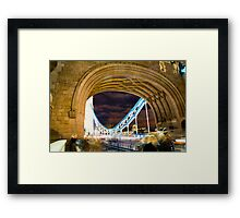 Through The Towers Framed Print