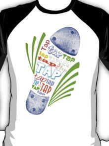 Tap Shoe Color - Dark T-Shirt