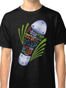 Tap Shoe Color - Dark Classic T-Shirt