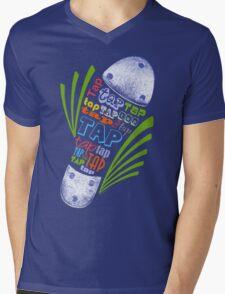 Tap Shoe Color - Dark Mens V-Neck T-Shirt