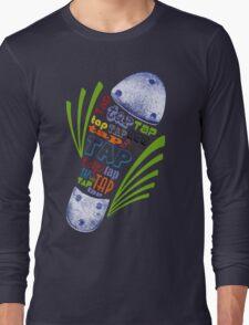 Tap Shoe Color Long Sleeve T-Shirt