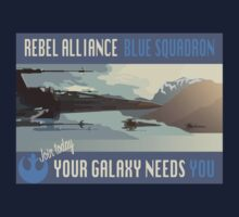 Rebel Alliance Blue Squadron Baby Tee