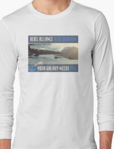 Rebel Alliance Blue Squadron Long Sleeve T-Shirt