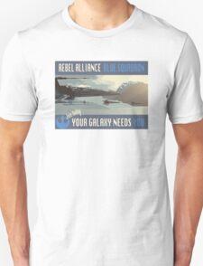Rebel Alliance Blue Squadron T-Shirt