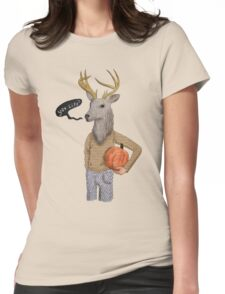 The Headless Horseman Womens Fitted T-Shirt