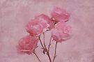Pink Roses by Sandy Keeton