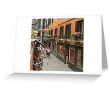 Venice Life Greeting Card