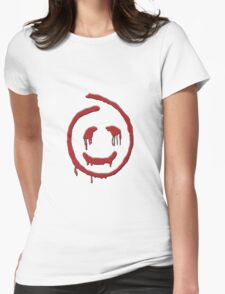 The Mentalist: Red John Womens Fitted T-Shirt