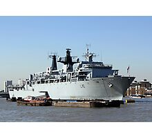Warship HMS Bulwark Photographic Print