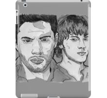 Supernatural - Winchesters - Sam and Dean - SN - Drawing iPad Case/Skin