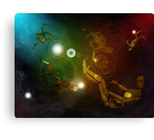Lost In Space...Creatures Canvas Print