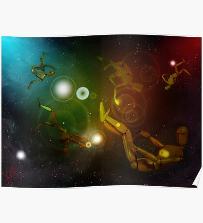Lost In Space...Creatures Poster