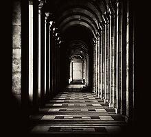 Hallway Gate to Infinity by benbdprod