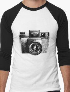 Holga 120S Black (Big) Men's Baseball ¾ T-Shirt