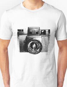 Holga 120S Black (Big) Unisex T-Shirt