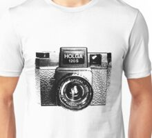 Holga 120S Black (Big) Unisex T-Shirt