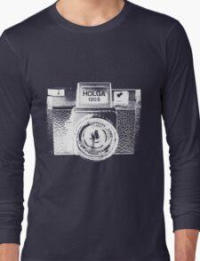 Holga 120S White (Big) Long Sleeve T-Shirt