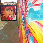 Graffitti in Gateshead by shortarcasart