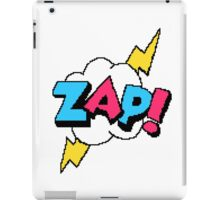Zap! - pixel art iPad Case/Skin