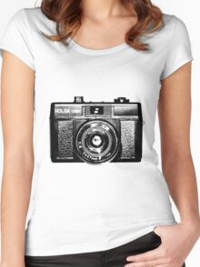 Holga 135 Black Women's Fitted Scoop T-Shirt