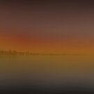 sunset iznik lake by Mustafa UZEL