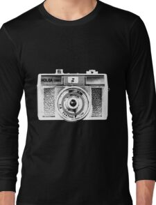 Holga 135 White Long Sleeve T-Shirt