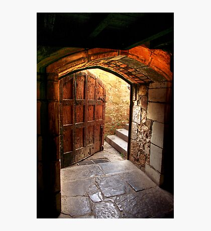 Light Through the Door at Montsalvat Photographic Print