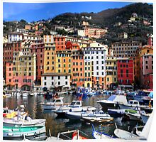 Camogli's harbour Poster
