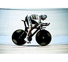 Rohan Dennis 2011 Apeldoorn World Track Championship Photographic Print
