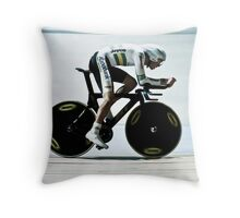 Rohan Dennis 2011 Apeldoorn World Track Championship Throw Pillow