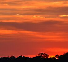 May Sunset  by Sheryl Gerhard