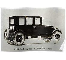 1921 Cadillac Sedan Poster