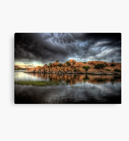 Darkness Enters Canvas Print