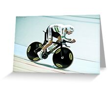 Rohan Dennis 2011 Apeldoorn World Track Championship Greeting Card