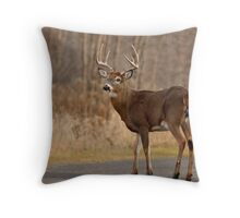 The big boss Throw Pillow