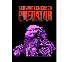 NES Predator: Predator Edition Photographic Print