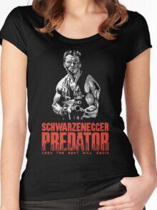 NES Predator: Arnie Edition Women's Fitted Scoop T-Shirt