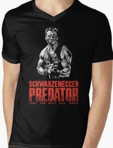 NES Predator: Arnie Edition Mens V-Neck T-Shirt