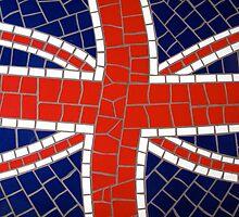 Union Jack Mosaic by jormar1990