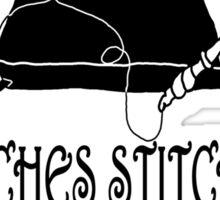 Witches Stitches - H.A.G. Guild Sticker