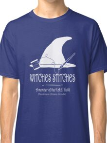 Witches Stitches H.A.G. Guild - White Design Classic T-Shirt