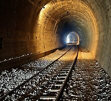 Light at the end of the tunnel by Hercules Milas
