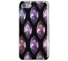 Marquise cut amethyst iPhone Case/Skin