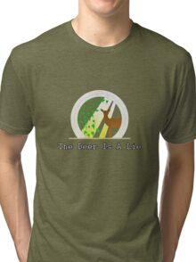 The Deer Is A Lie Tri-blend T-Shirt