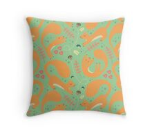Squirrels Fall Throw Pillow