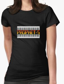 Old Synthesizer Prophet-5  Womens Fitted T-Shirt