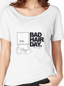 Robots in Disguises - Bad Hair Day Women's Relaxed Fit T-Shirt