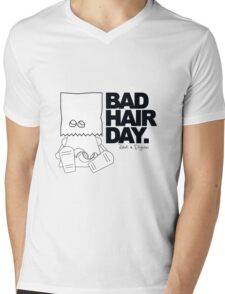 Robots in Disguises - Bad Hair Day Mens V-Neck T-Shirt