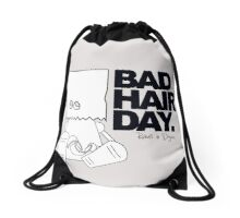 Robots in Disguises - Bad Hair Day Drawstring Bag